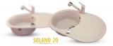 Zlewozmywak Solano 20